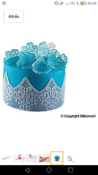 Tapete de silicona para tartas Glassa
