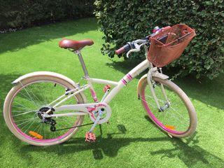Bicicleta de niña modelo VINTAGE