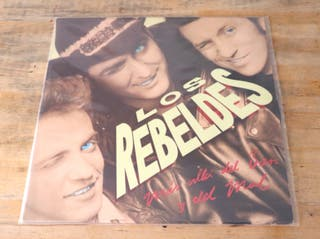 Disco vinilo lp Los Rebeldes