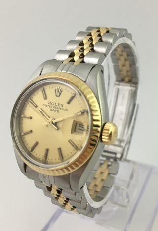 Reloj Rolex Oyster Perpetual Date Señora