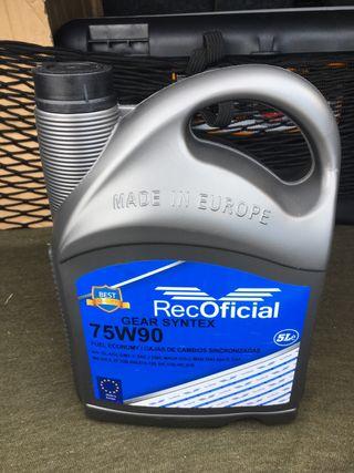 (Nuevo) Aceite. Caja Cambios 75W90 Coche.