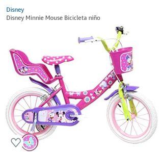 bicicleta niña 14 pulgas nueva impecable sin uso