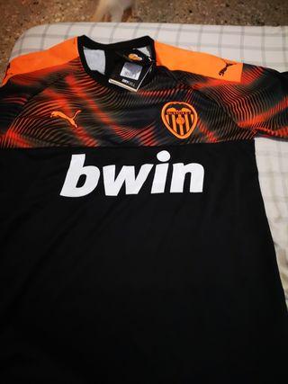 camiseta del Valencia nueva 2019_2020