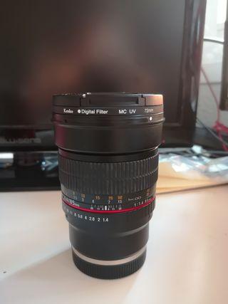 SAMYANG 85mm 1.4f SONY