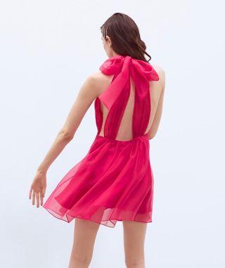 Vestido rojo nuevo Zara