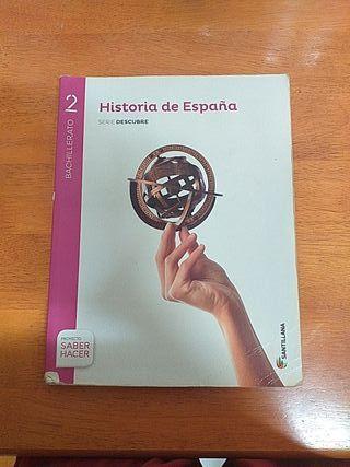 libro historia de España segundo de bachiller