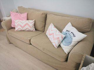Sofá cama 3 plazas Ikea