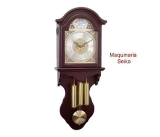 Reloj pared de péndulo nuevo maquina cuarzo SEIKO