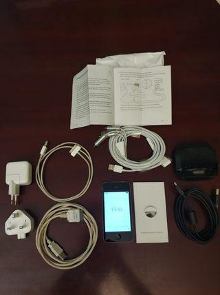 IPhone 4 con accesorios