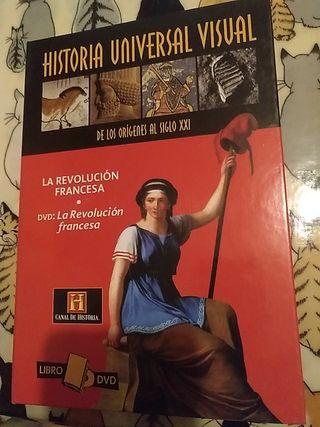 HISTORIA. REVOLUCIÓN FRANCESA. libro + DVD