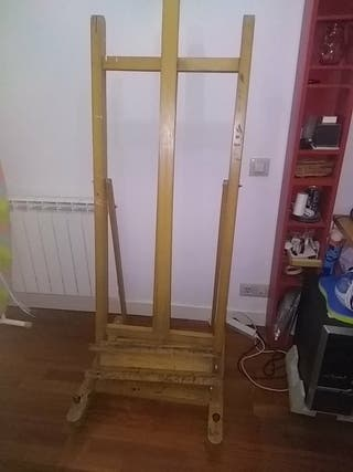 caballete pintura de madera