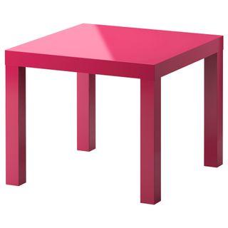 Ikea Lack Red gloss 55cm x 55cm