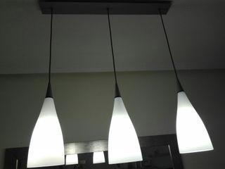 lámpara colgante muy bonita.