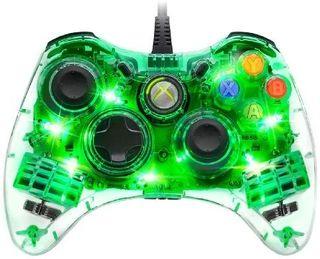 mando de Xbox 360 con cable 2 metros con luces