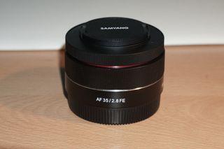 Samyang 35mm f2.8 para Sony full frame apsc emount