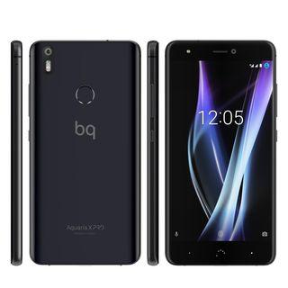 BQ Aquaris X Pro 64GB negro+ cargador + funda