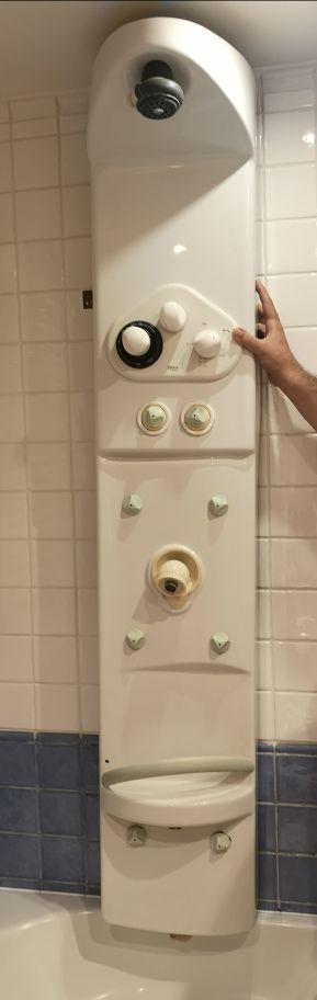 columna de ducha hidromasaje