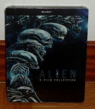 Alien Saga Completa Steelbook 6 Blu-ray PRECINTADO