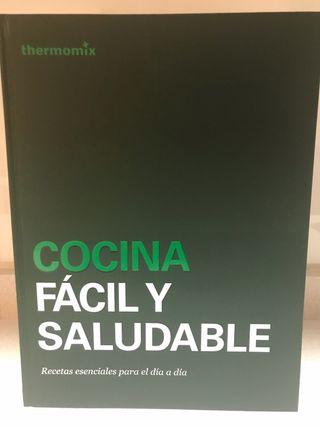 Libro Thermomix Cocina Fácil y Saludable