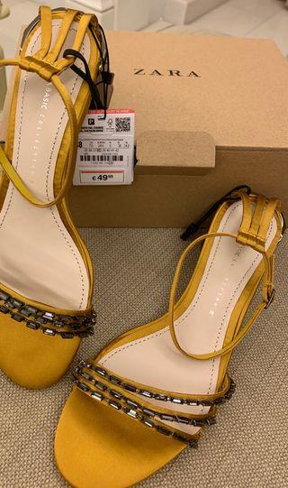 Zapatos Zara piel A ESTRENAR!