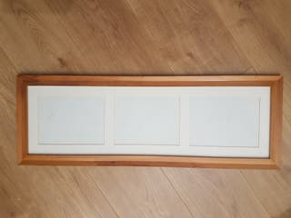 Cuadro de fotos de madera
