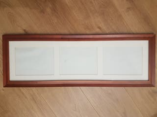 Cuadro marco de madera