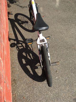 Zinc white bike
