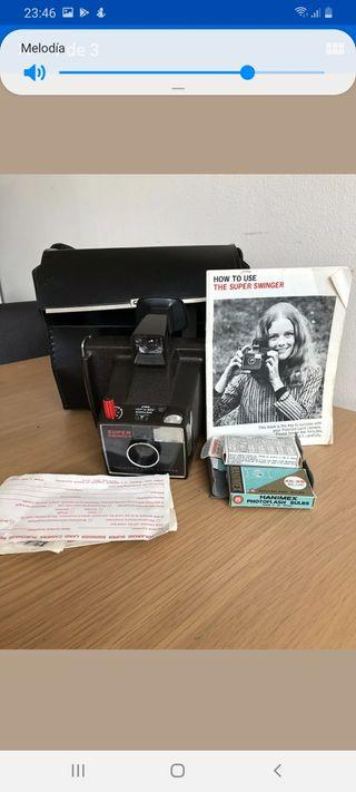 camara de fotos polaroid vintage