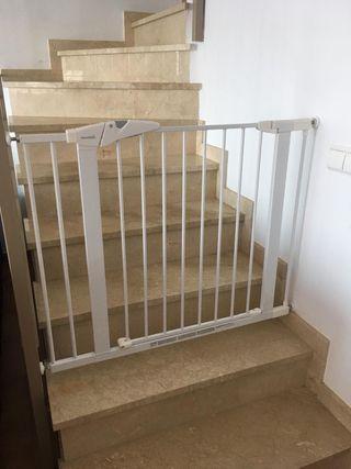 Valla protección escalera