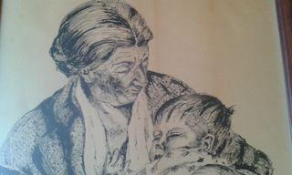 cuadro 1960. madre. Miquel Bosch Pla