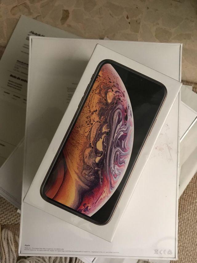 IPHONE XS 256 GB DORADO