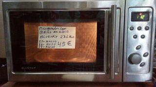 microondas con grill Bluesky