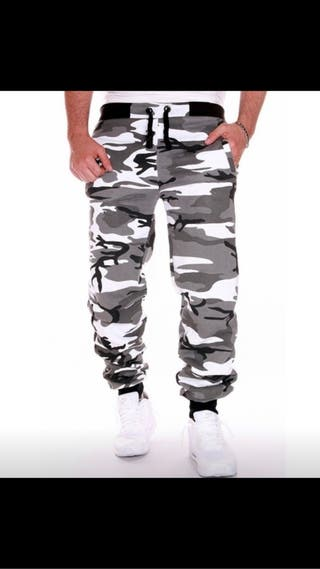 Men's camouflage joggers