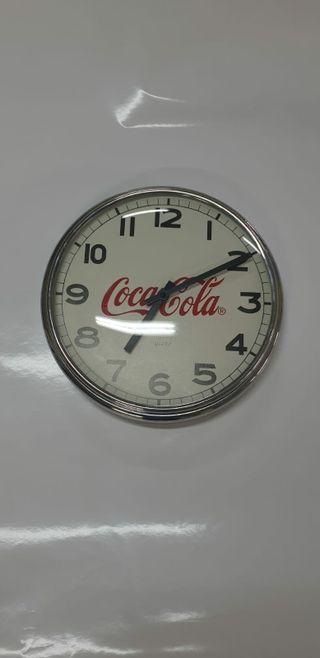 reloj pared coca cola