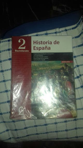 Libro bachillerato 2 historia de españa 2