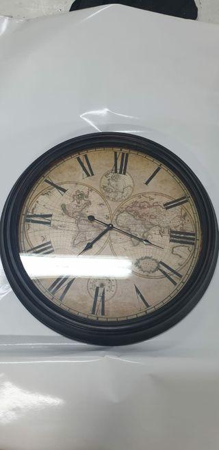 reloj pared mundo NUEVO!