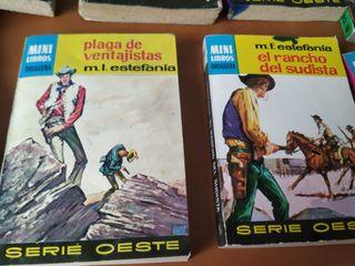 novelas bolsillo50 unidades