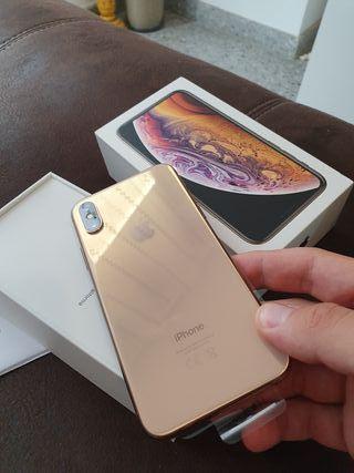 Iphone xs oro 64 gb ORIGINAL factura y garantía