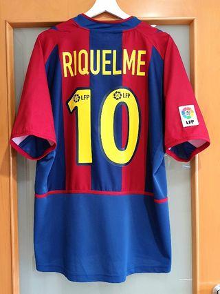 FC Barcelona 2002/03. RIQUELME. ORIGINAL. PERFECTA