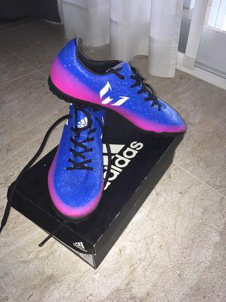 Botas de fútbol multitacos Messi 16.4 Adidas
