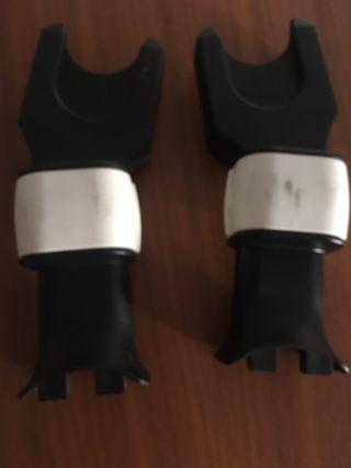 Adaptadores del maxicosi al carro bugaboo