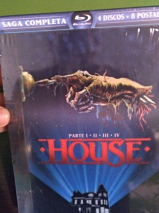 House saga completa digipack Blu-ray