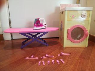 Lavadora + plancha juguete
