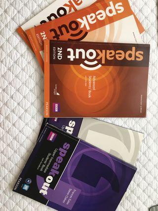Libros inglés B2 y C1 (advanced).