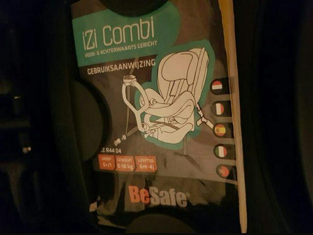 besafe izi combi x3 de segunda mano por 110 en las rozas de madrid en wallapop. Black Bedroom Furniture Sets. Home Design Ideas