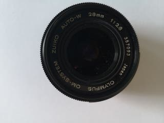 Objetivo Zuiko de 28 mm para Olympus