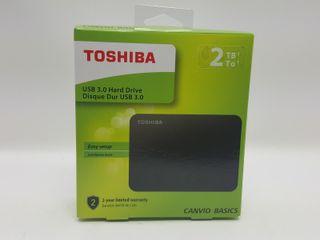 """Disco Duro Externo 2TB 2.5"""" USB3.0 Toshiba C 90254"""