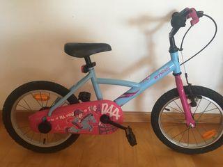 Bicicleta infantil B-Twin_de 4 a 6 años