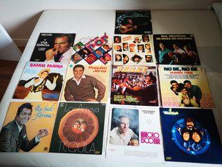 discos vinilo flamenco copla rumba años 70 y 80