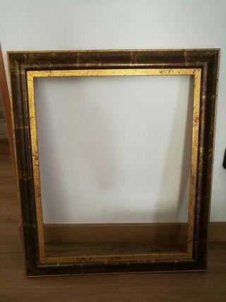 marc de fusta, ideal per quadre,mirall, 60x70